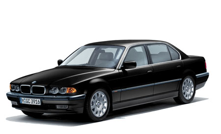 Автомобильные коврики EVA BMW 7 E38 (1994-2001)