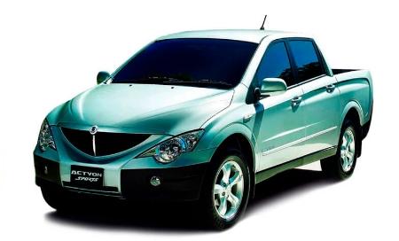 Автомобильные коврики EVA SsangYong Actyon Sport I (2006-2011)