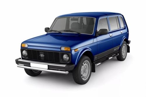 Автомобильные коврики EVA Lada 2131 Нива 5D