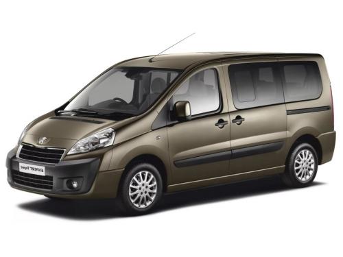 Автомобильные коврики EVA Peugeot Expert Tepee (2012-2016)
