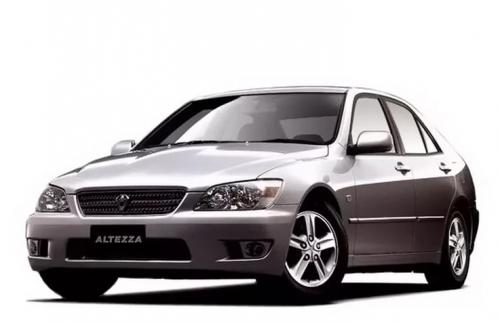 Автомобильные коврики EVA Toyota Altezza, правый руль (1998-2005)