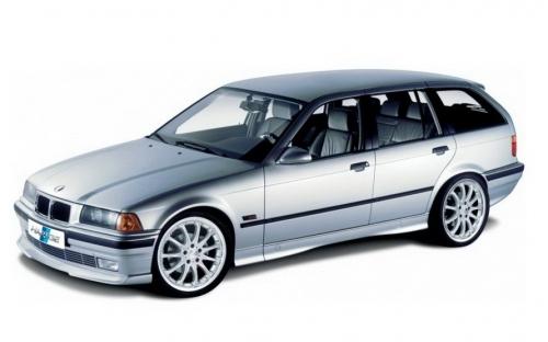Автомобильные коврики EVA BMW 3 E36 универсал (1990-1998)