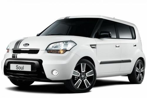 Автомобильные коврики EVA Kia Soul I рестайлинг (2011-2014)