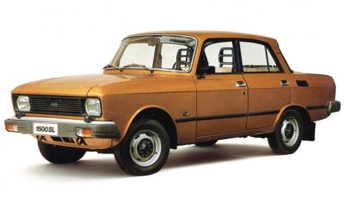 Автомобильные коврики EVA Москвич 412 (1967-1997)