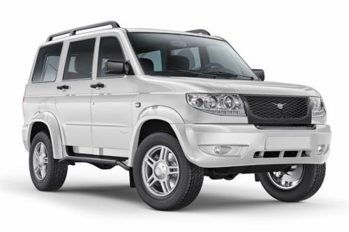 Автомобильные коврики EVA УАЗ Patriot I рестайлинг (2012-2014)