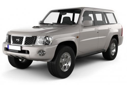 Автомобильные коврики EVA Nissan Patrol Y61 рестайлинг (2004->)