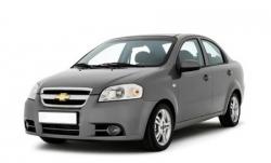 Автомобильные коврики EVA Chevrolet Aveo I T200/T250 седан (2003-2012)