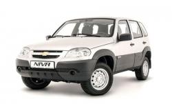 Автомобильные коврики EVA Chevrolet Niva II (2009->)