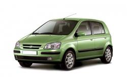 Автомобильные коврики EVA Hyundai Getz (2002-2011)