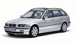 Автомобильные коврики EVA BMW 3 E46 универсал (1998-2005)