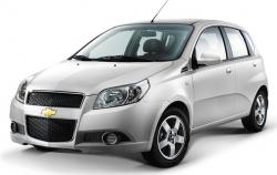 Автомобильные коврики EVA Chevrolet Aveo I T200/T250 хэтчбек (2003-2012)