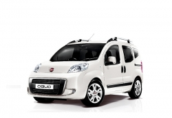 Автомобильные коврики EVA Fiat Qubo (2008->)