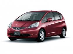 Автомобильные коврики EVA Honda Fit II, правый руль (2007-2013)