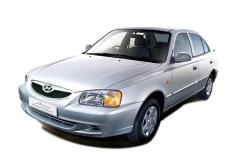 Автомобильные коврики EVA Hyundai Accent II (1999-2013)