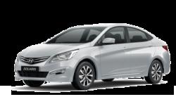 Автомобильные коврики EVA Hyundai Solaris I седан (2010-2017)