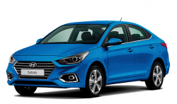 Автомобильные коврики EVA Hyundai Solaris II (2017->)