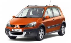 Автомобильные коврики EVA Renault Scenic II (2003-2009)