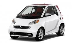 Автомобильные коврики EVA SMART ForTwo II (451) (2007-2015)