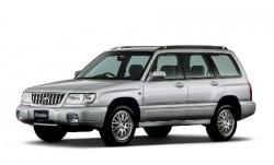 Автомобильные коврики EVA Subaru Forester I SF, левый руль (1997-2002)