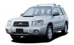 Автомобильные коврики EVA Subaru Forester II SG, левый руль (2002-2007)