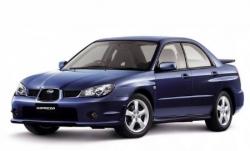 Автомобильные коврики EVA Subaru Impreza II GD/GG седан, правый руль (2000-2007)