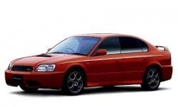 Автомобильные коврики EVA Subaru Legacy III BE/BH/BT, правый руль (1998-2003)