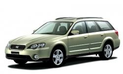 Автомобильные коврики EVA Subaru Outback III BP (2003-2009)