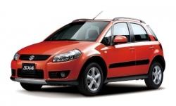 Автомобильные коврики EVA Suzuki SX4 I хетчбек (2006-2013)