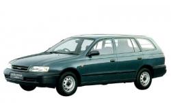 Автомобильные коврики EVA Toyota Caldina T19x, правый руль (1992-1997)