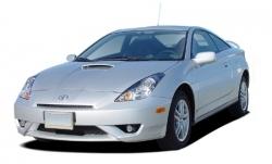 Автомобильные коврики EVA Toyota Celica VII T230, правый руль (1999-2006)