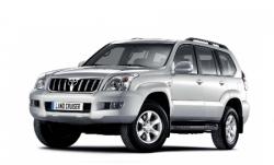 Автомобильные коврики EVA Toyota Land Cruiser Prado 120, 5 мест (2002-2009)