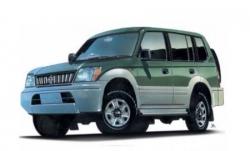 Автомобильные коврики EVA Toyota Land Cruiser Prado 90 (1996-2002)