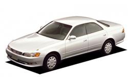 Автомобильные коврики EVA Toyota Mark II GX90, правый руль (1992-1996)