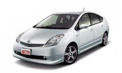 Автомобильные коврики EVA Toyota Prius II XW20, правый руль (2003-2009)