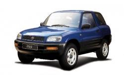 Автомобильные коврики EVA Toyota RAV4 I XA10 3D (1994-2000)