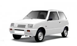 Автомобильные коврики EVA Lada Ока (1990-2006)