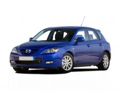 Автомобильные коврики EVA Mazda 3 I BK хэтчбек (2003-2009)