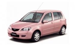 Автомобильные коврики EVA Mazda Demio II DY, правый руль (2002-2007)