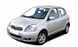 Автомобильные коврики EVA Toyota Yaris I 3D/5D FWD (1999-2002)