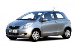 Автомобильные коврики EVA Toyota Yaris II XP 90 (2005-2010)