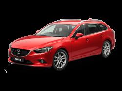 Автомобильные коврики EVA Mazda 6 III GJ универсал (2012-2015)