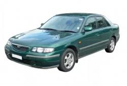 Автомобильные коврики EVA Mazda 626 Capella GW 4WD, правый руль (1997-2001)