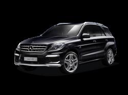 Автомобильные коврики EVA Mercedes-Benz ML W166 (2011-2015)