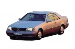Автомобильные коврики EVA Mercedes-Benz S C140 (1992-1999)
