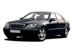 Автомобильные коврики EVA Mercedes-Benz S W220 (1999-2005)