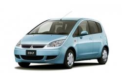 Автомобильные коврики EVA Mitsubishi Colt VI Z30 (2003-2012)
