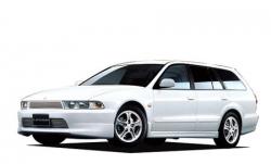 Автомобильные коврики EVA Mitsubishi Legnum 4WD, правый руль (1996-2002)