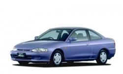 Автомобильные коврики EVA Mitsubishi Mirage V левый руль (1995-2003)