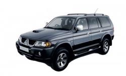 Автомобильные коврики EVA Mitsubishi Pajero Sport I (1998-2008)