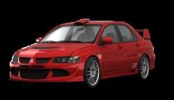 Автомобильные коврики EVA Mitsubishi Lancer Evolution IX (2005-2007)